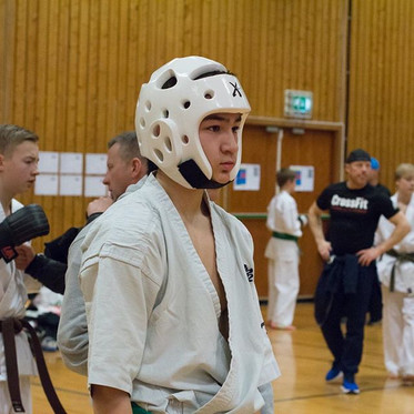 One of our athletes during Norway's Cham
