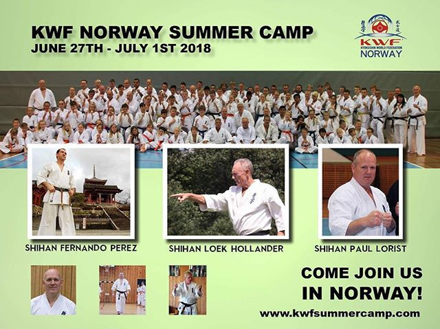 JOIN OUR SUMMER CAMP IN NORWAY! Check li