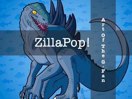 ZillaPop : The Art Of The G-Fan