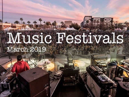 Music Festivals for March
