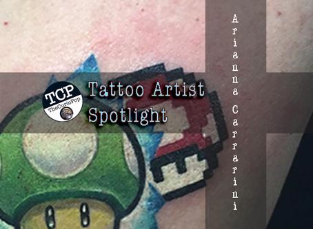 Tattoo Artist Spotlight: Arianna Carrarini