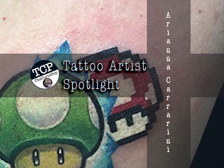 Tattoo Artist Spotlight: Arianna Carrarini
