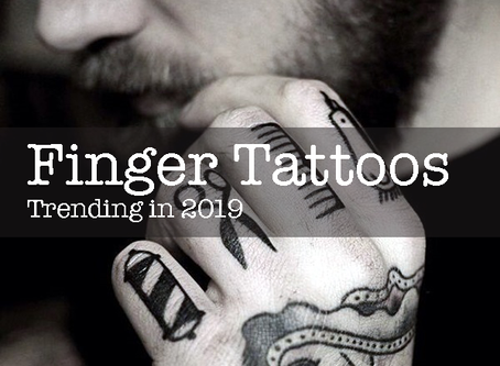 Creative Ink: Finger Tattoos