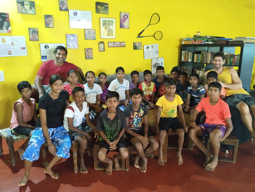 START kids with Ritwik and Stephan