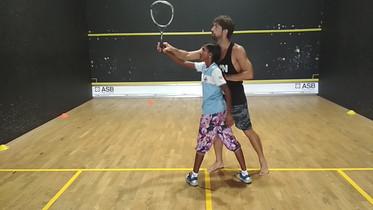 Stephane teaching Gangu