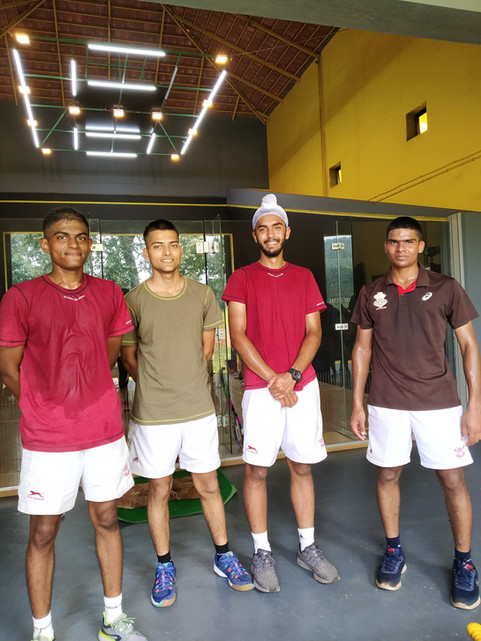 Cadets from National Defence Academy after a tough training session at START