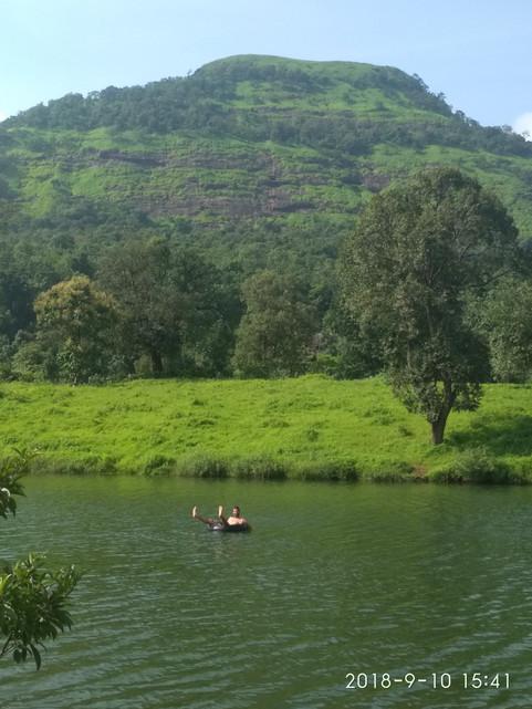 Stephane and his lake!