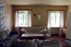 Järvenrantahuvila, olohuone