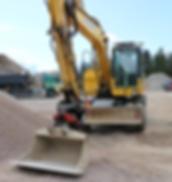 Maanrakennusurakointi | Lieto | Maanrakennusliike Vähätalo Oy / konevuokraus