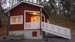 Brinkhall, Merenrantahuvilan sauna