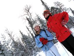 Luoston Karpalo hiihtäjät