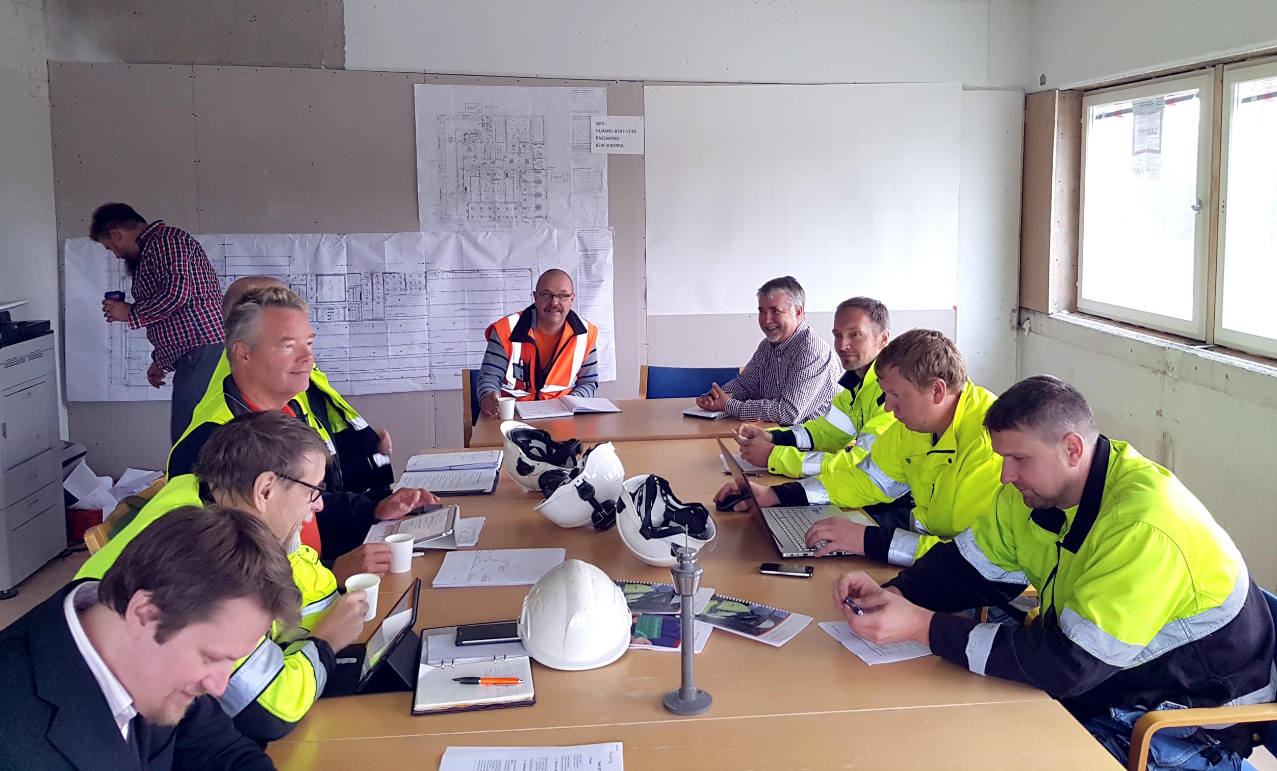 Työmaakokous, Espoo Kilo