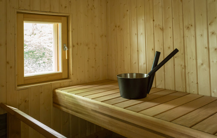 Seashore Cottage, sauna