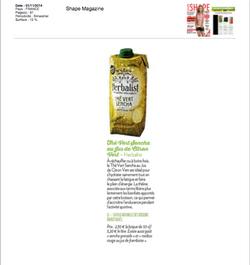 SHAPE MAGAZINE Herbalist