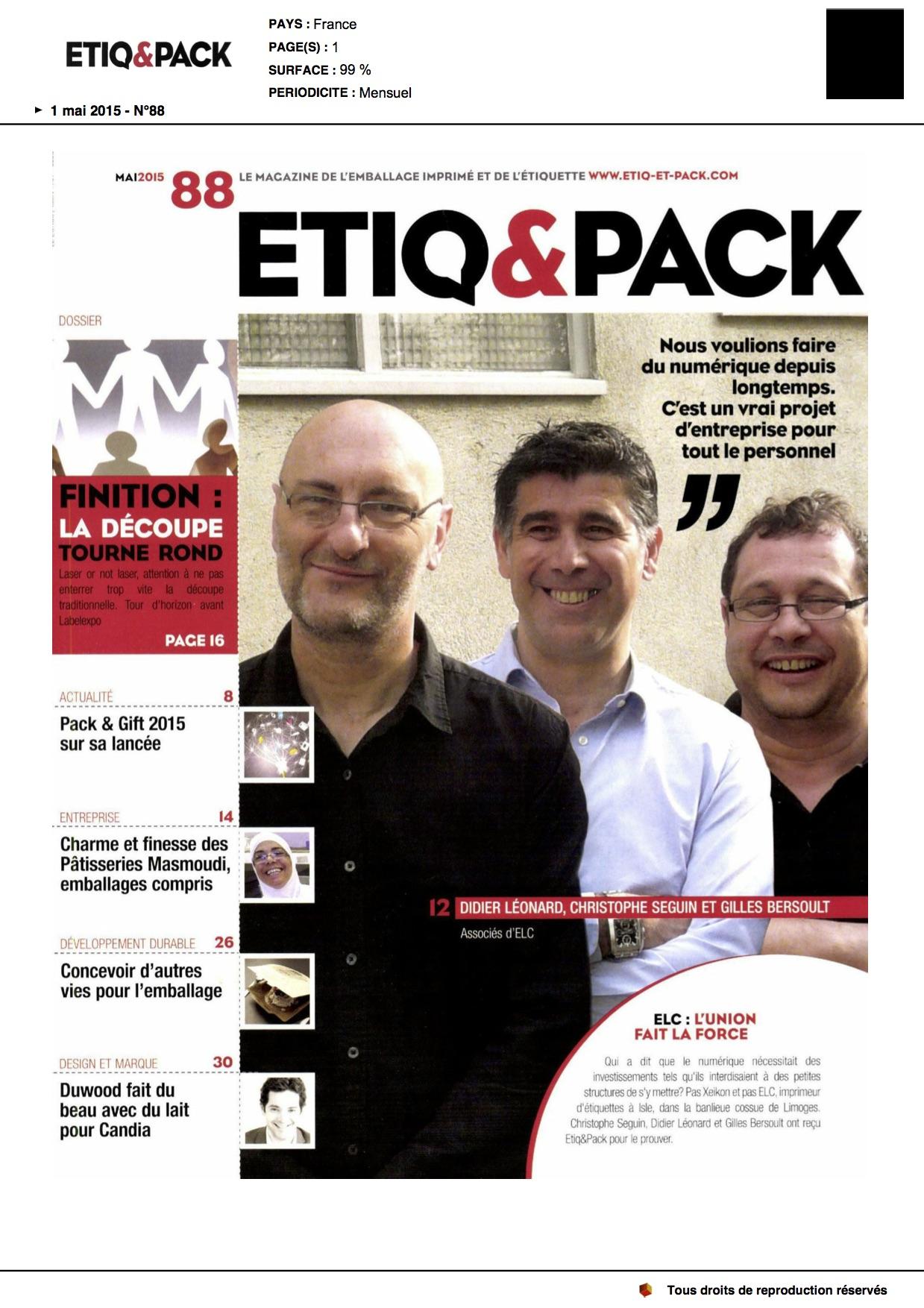 ETIQ & Pack DUWOOD