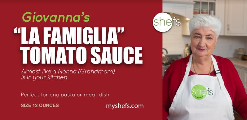 """Giovanna's """"La Famiglia"""" Italian Home Style Tomato Sauce"""