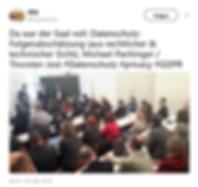 DSFA Präsentation von Jost und Pachinger bei der IRIS 2018