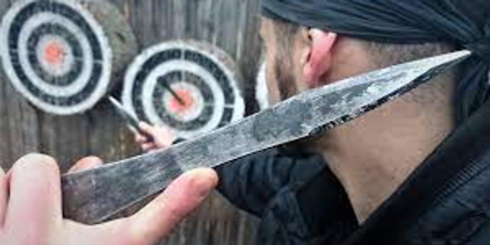 Knife Throwing Workshop with World Champion Adam Čeladin