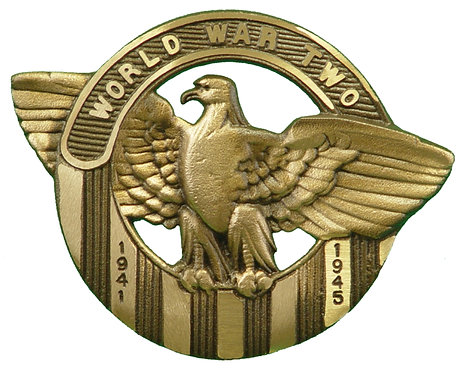 World War II Service Marker Bronze