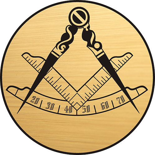 Masonic Compass and Square