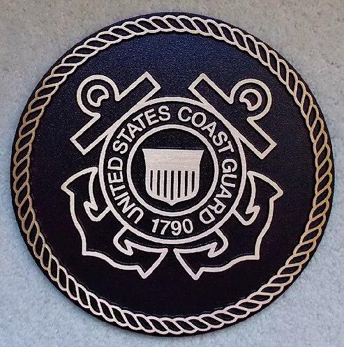U.S. Coast Guard Cast Bronze Emblem
