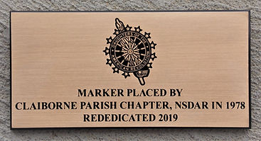 Claiborne Parish Chapter Rededication pl