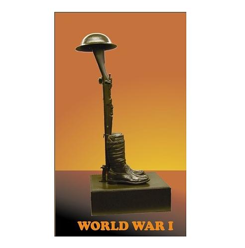 World War I Fallen Soldier  Statue