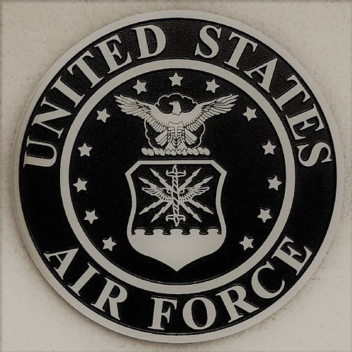 U.S. Air Force Cast Aluminum Emblem