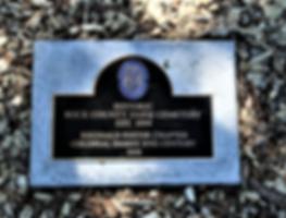 Historic Rock County Farm Cemetery 2018.