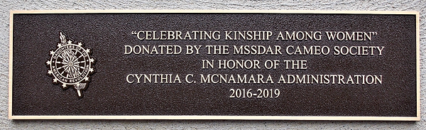 Celebrating Kinship Among Women plaque.p