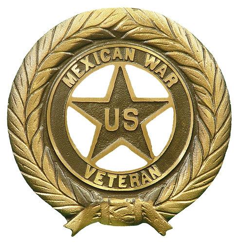 Mexican War Service Marker Bronze