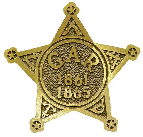 GAR 1861 - 1865 Service Marker Bronze