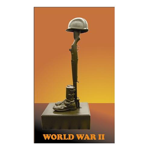 World War II Fallen Soldier  Statue