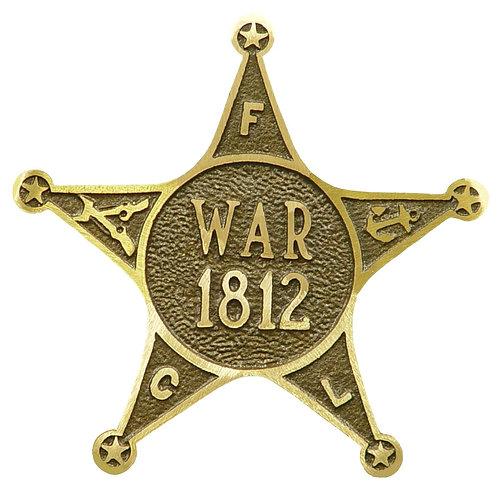 1812 Service Marker Bronze