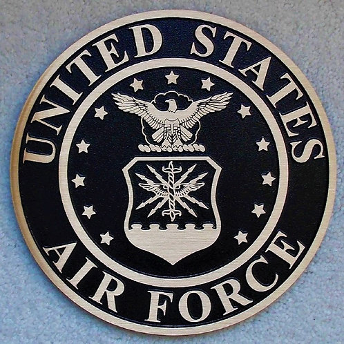U.S. Air Force Cast Bronze Emblem