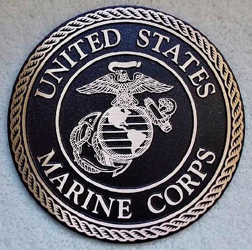 U.S. Marine Corps Cast Bronze Emblem