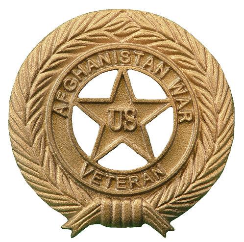 Afghanistan War Veteran Service Marker