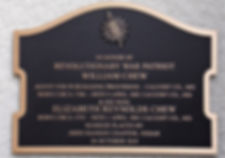 William Chew plaque.JPG