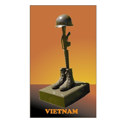 Vietnam Fallen Soldier  Statue