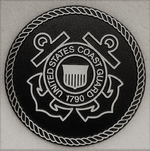 U.S. Coast Guard Cast Aluminum Emblem