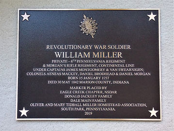 William Miller - Revolutionary War Soldi