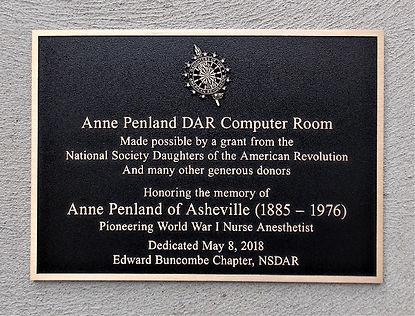 Anne Penland DAR Computer Room 14 x 10.J