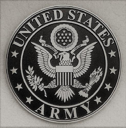 U.S. Army Cast Aluminum Emblem