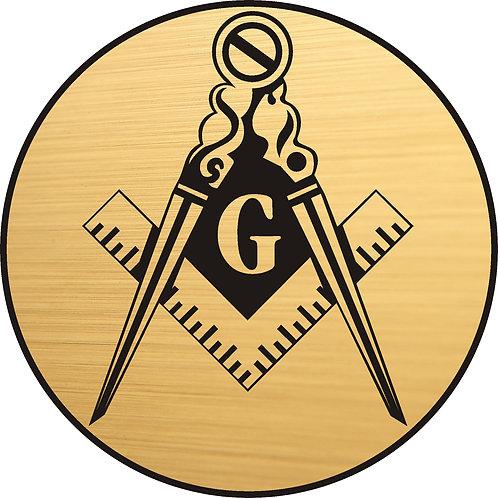Masonic Compass and Square