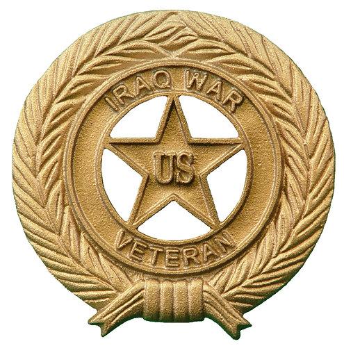 Iraq War Veteran Service Marker