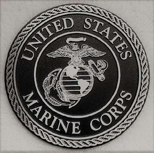 U.S. Marine Corps Cast Aluminum Emblem
