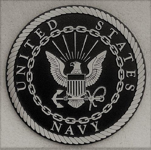 U.S. Navy Cast Aluminum Emblem