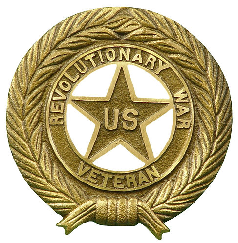 Revolutionary War Service Marker Bronze