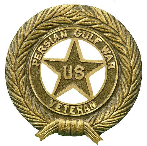 Persian Gulf War Veteran Service Marker Bronze