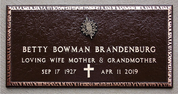 Betty Bowman Brandenburg marker.JPG
